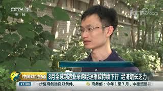 [中国财经报道]8月全球制造业采购经理指数持续下行 经济增长乏力| CCTV财经