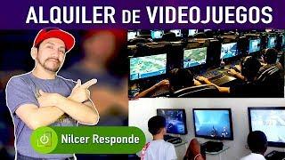 NEGOCIO de ALQUILER de VIDEOJUEGOS - Nilcer Responde