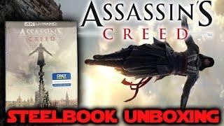 Assassin's Creed (2016) Best Buy Exclusive 4K Blu-ray Steelbook Unboxing