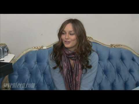 Gossip Girl Set Visit - Behind The Scenes: Leighton Meester