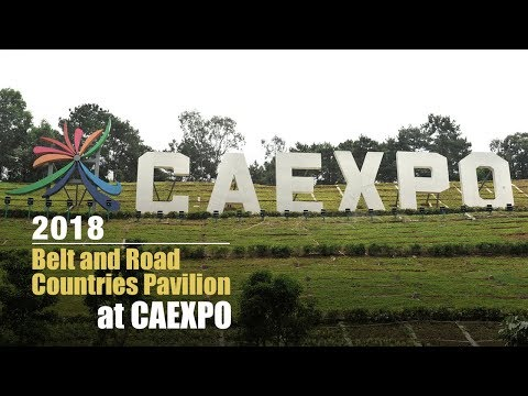"""Live: 2018 Belt and Road Countries Pavilion at CAEXPO 中国-东盟博览会""""一带一路""""展区"""
