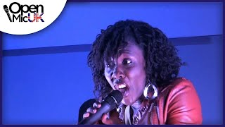 MANDISA - OVERCOMER performed by TOSE at the Milton Keynes Open Mic Music Competition