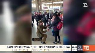 """Caso """"Paco Nazi"""": 8 años de cárcel para carabinero viral que pidió matrimonio en terminal San Borja"""