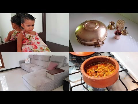Cooking Ennai Kathirikai Kuzhambu at Night - How to Clean Brass & Copper -  YUMMY TUMMY TAMIL VLOG