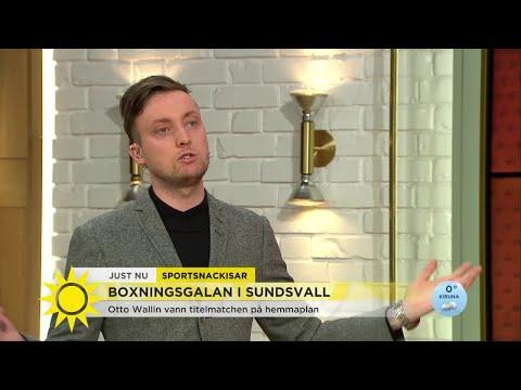 """Axel Pileby om bråket i studion: """"Jag gillar ju det här!""""  - Nyhetsmorgon (TV4)"""