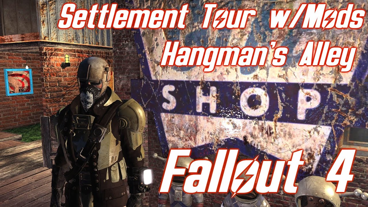 maxresdefault fallout 4 hangman's alley tour with settlement mods youtube fallout 4 fuse box mod at crackthecode.co