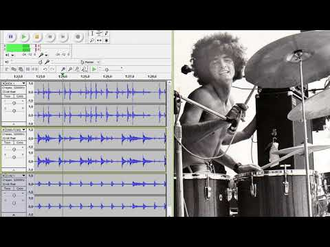 Grand Funk Railroad - We're An American Band - Drums Only. Isolated Drum Track.