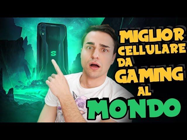 MIGLIOR CELLULARE da GAMING al MONDO!   Unboxing Black Shark 2