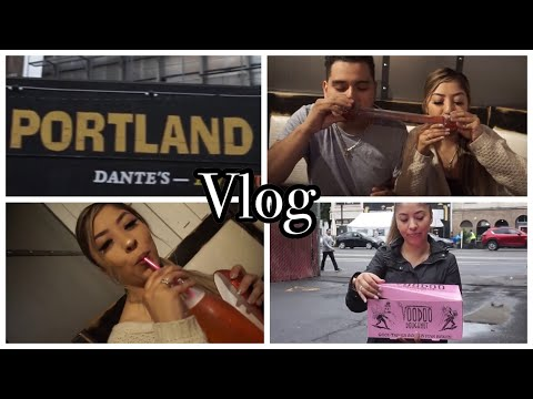 MINI GETAWAY TO PORTLAND! VOODOO DONUTS, COUPLES MASSAGE & DRINKS!