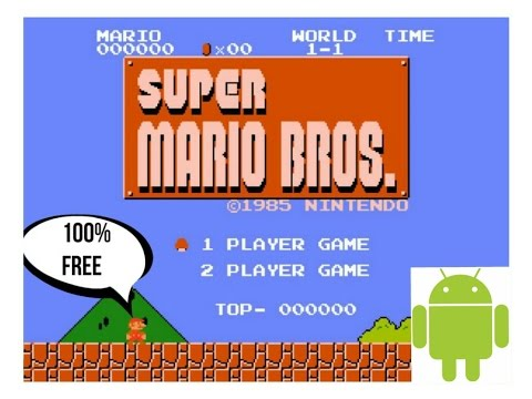 SUPER MARIO BROS FOR ANDROID   FREE DOWNLOAD   HD  