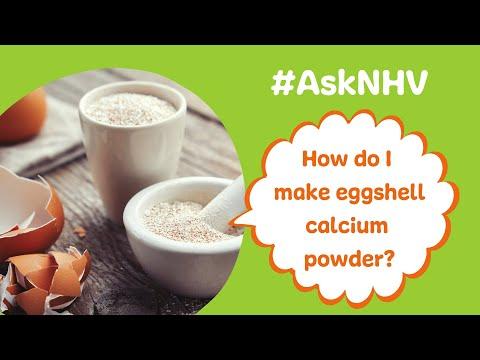 #AskNHV: The Easiest Eggshell Calcium Powder Recipe EVER!