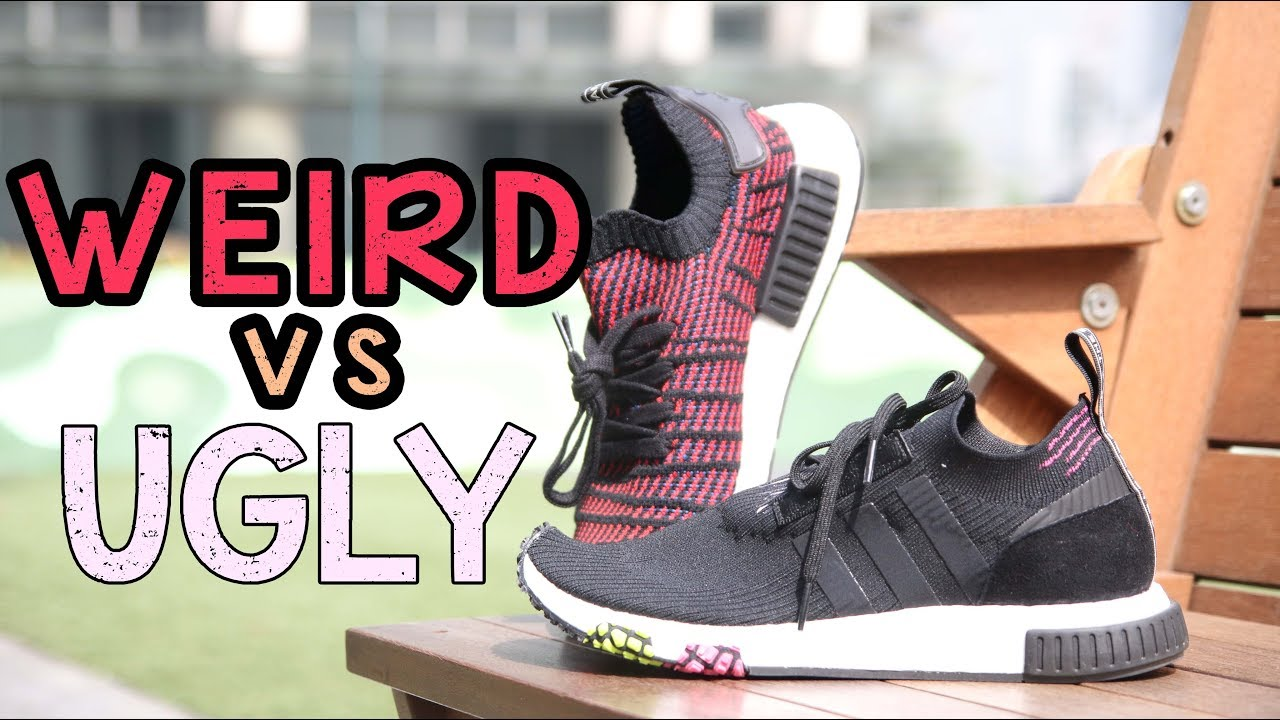 39b6cdf8c3ee7 Adidas NMD RACER VS Adidas NMD STLT    WEIRD VS UGLY - YouTube