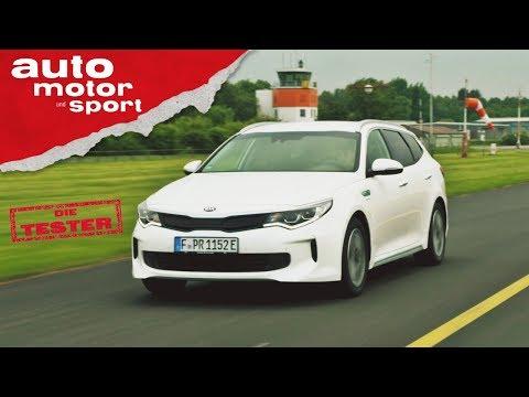 Kia Optima Sportswagon Hybrid: Macht er den Diesel überflüssig? Die Tester | auto motor und sport