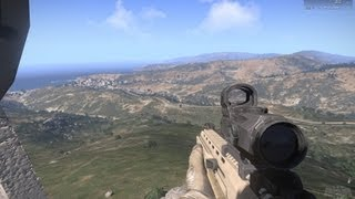 ArmA 3 primo gameplay alpha commentato italiano maxed out in ITA HD 1080p