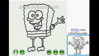How to draw Spongebob