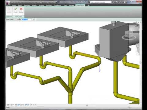 FLV - Revit MEP - Pluming Piping.flv