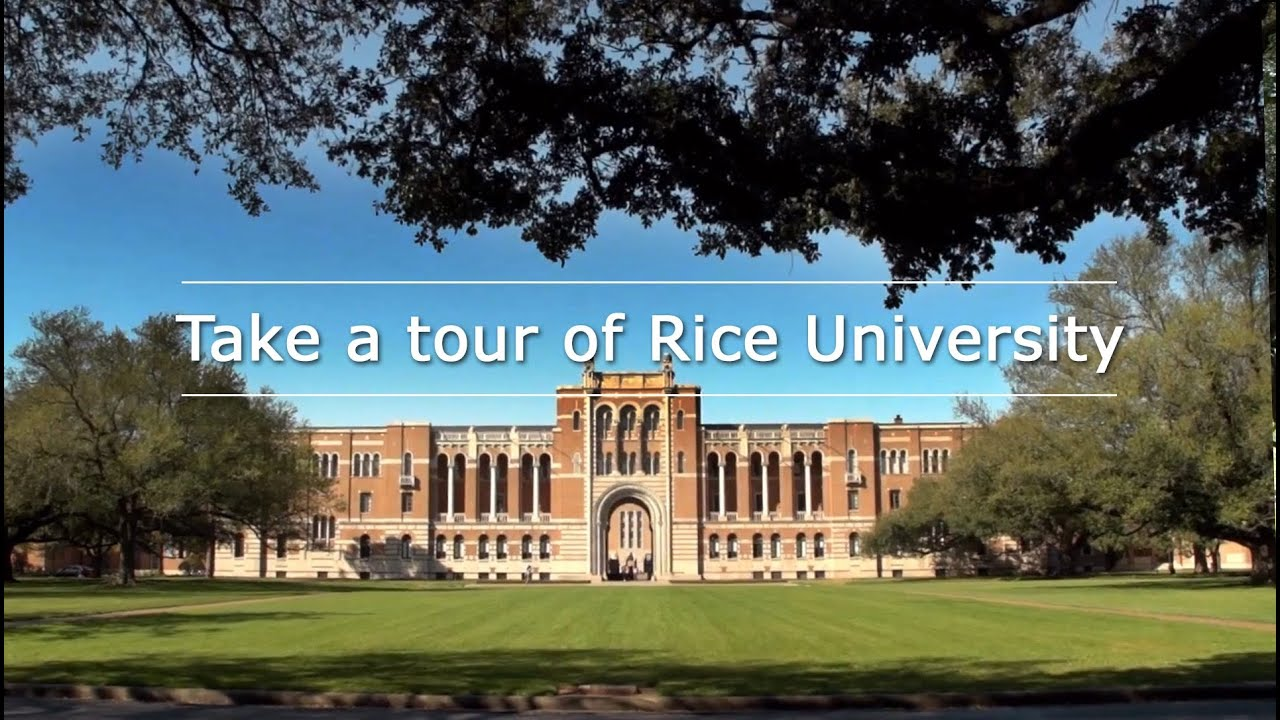 Take a tour of Rice University 2013 Edition YouTube