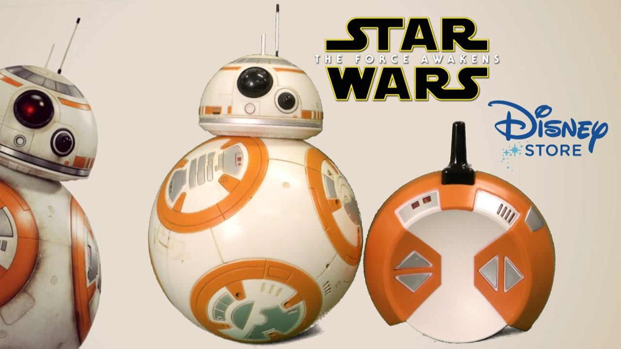 Star wars deluxe remote control bb 8 from the disney store for Bb shop