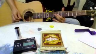 test ernie ball earthwood rock n blues strings picks