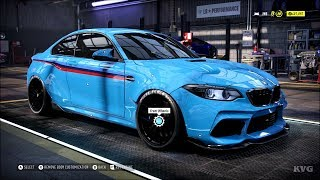 Need for Speed Heat - BMW M2 Competition 2019 - Customize | Tuning Car (PC HD) [1080p60FPS]