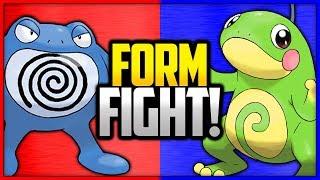 Poliwrath vs Politoed | Pokémon Form Fight (Branched Evolution)