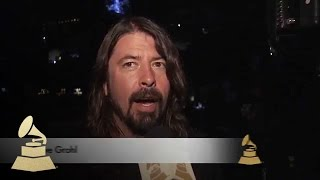 "Dave Grohl Is ""Happy AC/DC Is Here"" 