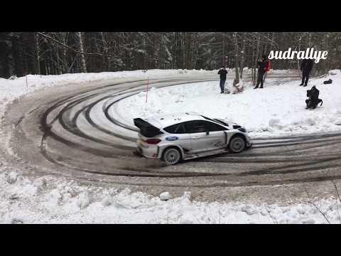 Test Rallye Monte Carlo 2018 - Elfyn Evans (Fiesta WRC) (HD)