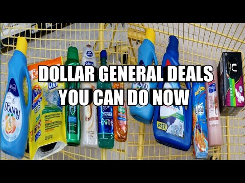 DOLLAR GENERAL DEALS YOU CAN DO NOW