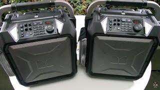 Monster Rockin' Roller 3 Rugged Indoor/Outdoor Bluetooth Speaker