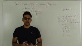 Rabin Karp Substring Search Pattern Matching thumbnail