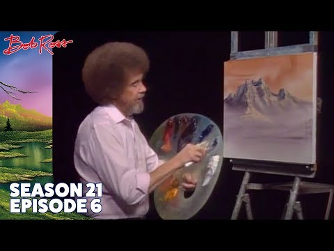 Bob Ross - Mountain Rhapsody (Season 21 Episode 6)