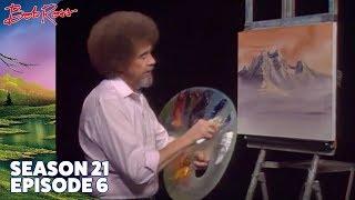 Bob Ross - Mountain Rhapsody (Season 21 Episode 6)