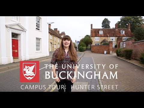 Hunter Street Campus Tour - University of Buckingham