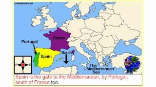 Zapętlaj Western Europe Geography Song & Video: Rocking the World | Adam Crossley