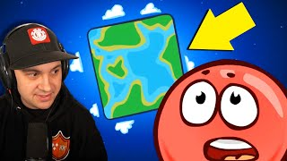 Red Ball must SAVE THE WORLD! | Red Ball 4 Gameplay (World 1)