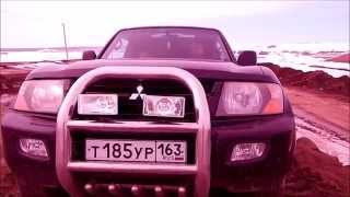 Обзор и тест- драйв MItsubishi Pajero (Montero) III V6 3,5 208 л с 2002 г в 1 часть(Друзья, представляем вашему вниманию легендарный честный внедорожник японо-американец MItsubishi Montero III V6 3,5..., 2014-03-31T06:04:32.000Z)