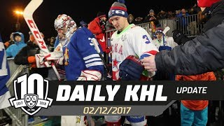 Daily KHL Update - December 2nd, 2017 (English)
