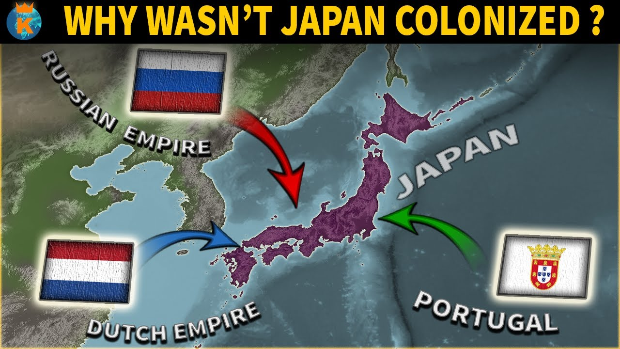 Why wasn't Japan colonized?