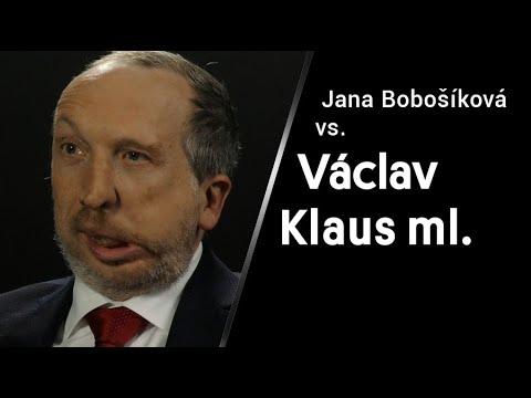 Jana Bobošíková vs. Václav Klaus ml. v XTV