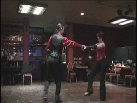 Classic Dance Routine with Tamra & James Hood - Swing In the City !