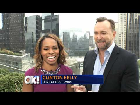 OK! TV Catches Up with Clinton Kelly About His New Show Love at First Swipe