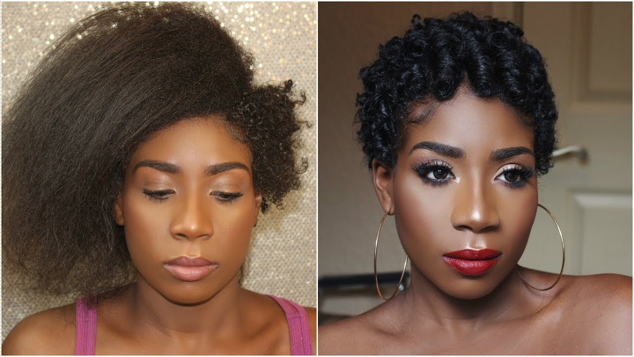 NATURAL HAIR JOURNEY - YouTube