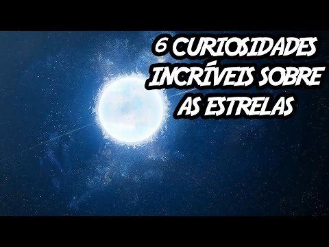 Veja o video – 6 curiosidades incríveis sobre as estrelas