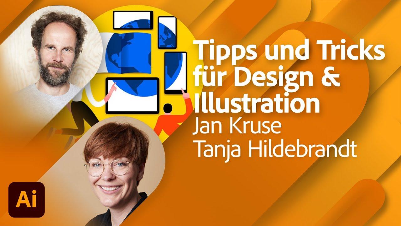Verläufe, Muster und Tricks mit Jan Kruse (Human Empire Studio) und Tanja Hildebrandt |Adobe Live