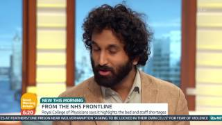New Report Gives Accounts of NHS Doctors Under Pressure | Good Morning Britain