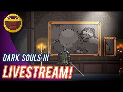 Dark Souls 3 FULL RUN -with cartoon commentary!- Let's kill ALL the Dorks.