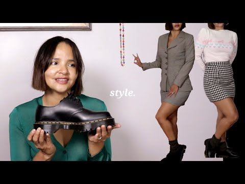 Thrift style guide: Dr. Martens 1461 BEX & styling | Isabel chevalier