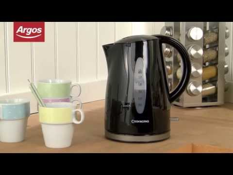 Cookworks WK8259BH Kettle in Black - Argos Review