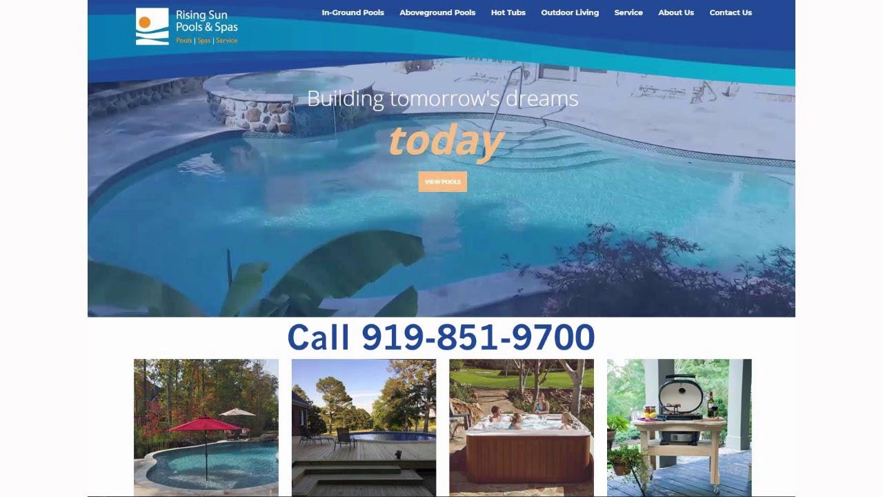 Garner Swimming Pool Installation And Service Contractors Nc Call 919 851 9700 Rising Sun Pools