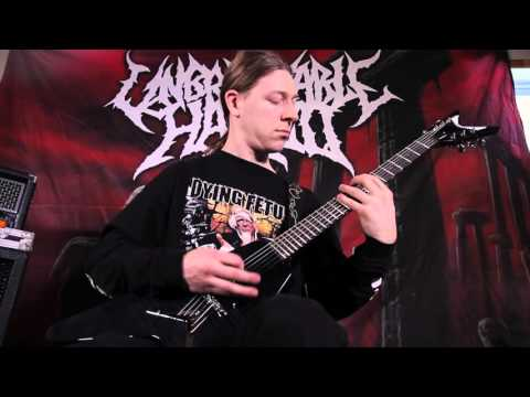 Unbreakable Hatred-Unpredictable Brutality Guitar Playthrough